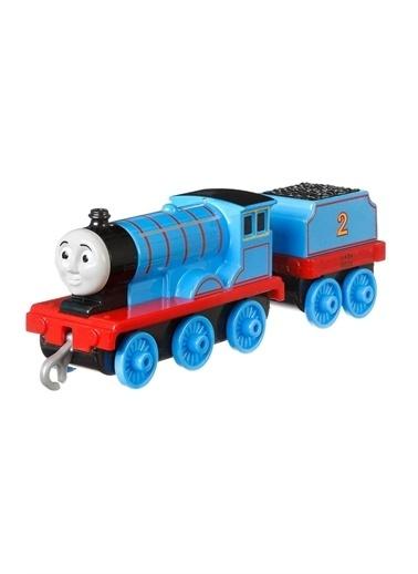 Thomas & Friends Tho Friends Trackter Sür-Bırak Büyük Tekli Tren GCK94-GDJ57 Mavi